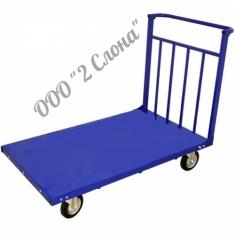Усиленные тележки грузовые платформенные