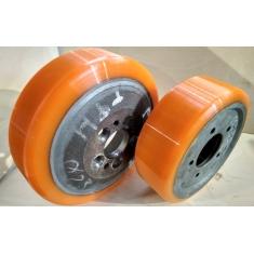 Восстановление полиуретанового покрытия колес и роликов для складской техники