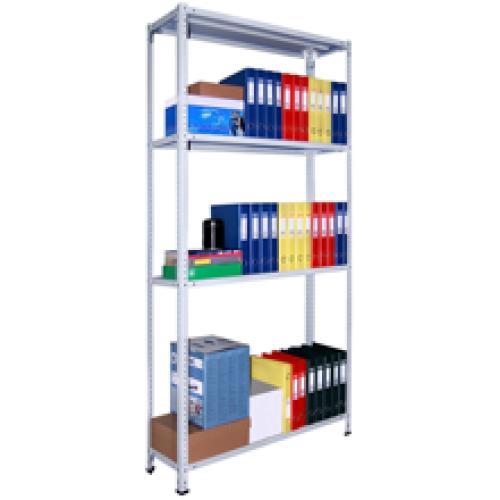 Металлические стеллажи архивные универсальные СТ 2200 (120 кг на полку)