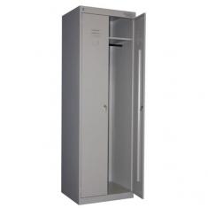Металлический шкаф для одежды стандартный с усиленной конструкцией ТМ-22-800