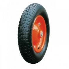 Колесо пневматическое 350 мм, стальной прессованный обод, симметричная ступица, шарикоподшипник