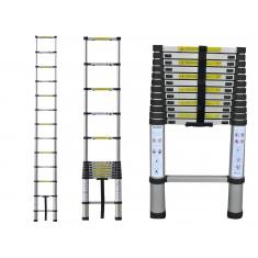 Телескопические лестницы приставные